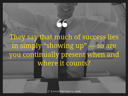 Be consistent is one of the 15 qualities to be a successful sales person - C-LevelPartners
