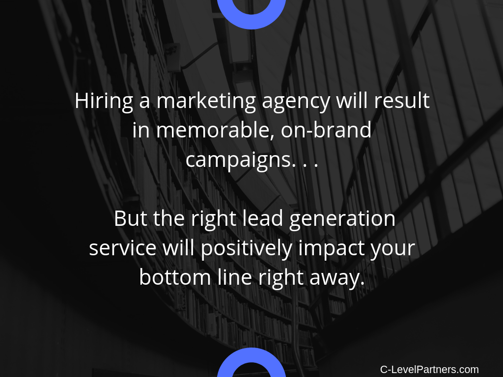 Get the right lead generation service and unleash the power of outbound prospecting