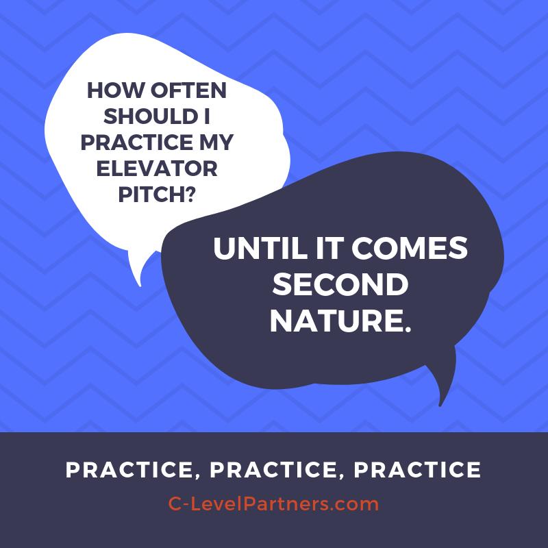 C-Level Partners Elevator Pitch